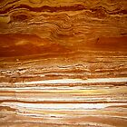 Rock layers, Kalbarri NP by Kevin McGennan