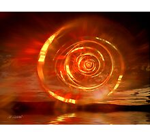 Flaming Dawn Photographic Print