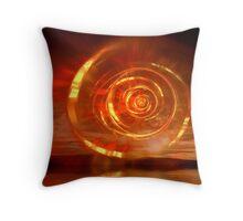 Flaming Dawn Throw Pillow