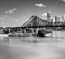 Story Bridge Brisbane by MarkusHoelzner