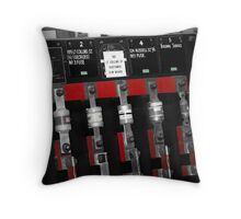 Confusing Fuses Throw Pillow