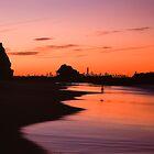 Currumbin Rock - Gold Coast  by Trevor Wallace