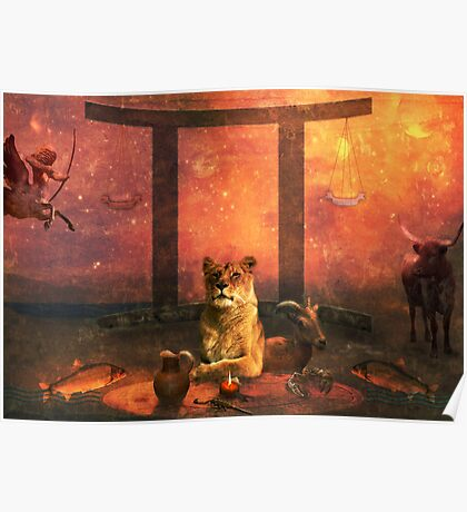 Leo's World Poster