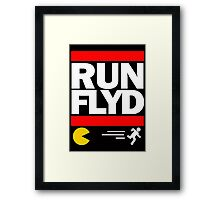 run, box and hug Framed Print