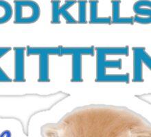 Help Desk Kitten Sticker