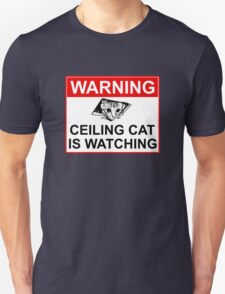 Ceiling Cat Sign T-Shirt