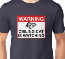 Ceiling Cat Sign Unisex T-Shirt