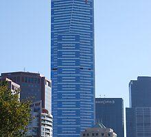 Eureka Tower - Melbourne Victoria Australia by Swampfox