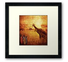 In The Heat Of The Sun Framed Print