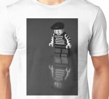 Happy on the outside...  Unisex T-Shirt
