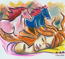 'Judy & The Dream of Horses' by Jerry Kirk