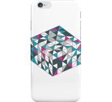 Teal Cube iPhone Case/Skin