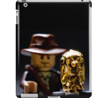 Indy and the Chachapoyan Fertility Idol iPad Case/Skin