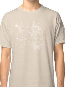 Twin Peaks Owl Cave Map Petroglyph Classic T-Shirt
