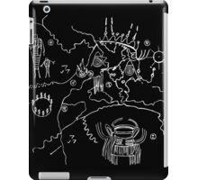 Twin Peaks Owl Cave Map Petroglyph iPad Case/Skin