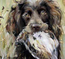 Bird Dog by marysparrowart