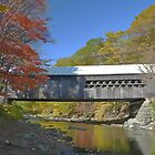 Vermont Covered Bridge by Jerry Deutsch