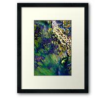 Waterfalls in Ellida River #3 Framed Print