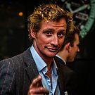 Portrait of Nick English founder of Bremont Watches  by MarcW