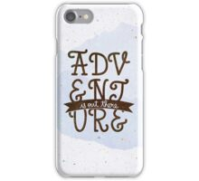 Adventure is out there iPhone Case/Skin
