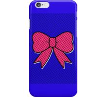 Comic Bow iPhone Case/Skin