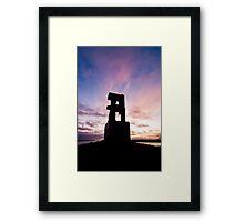 Sunset at Hallsteinshöfða #1 Framed Print