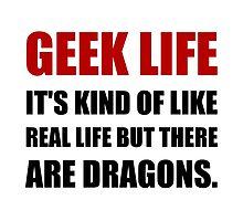 Geek Life Dragons by AmazingMart