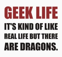 Geek Life Dragons Kids Clothes