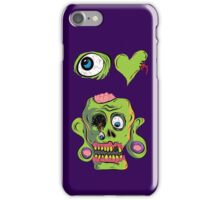 I Heart Zombies iPhone Case/Skin