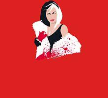 People always underestimate a girl in diamonds and furs (Cruella De Vil) T-Shirt
