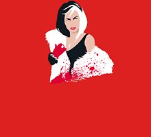 People always underestimate a girl in diamonds and furs (Cruella De Vil) T-Shirt