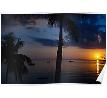 My favourite Negril sunset Poster