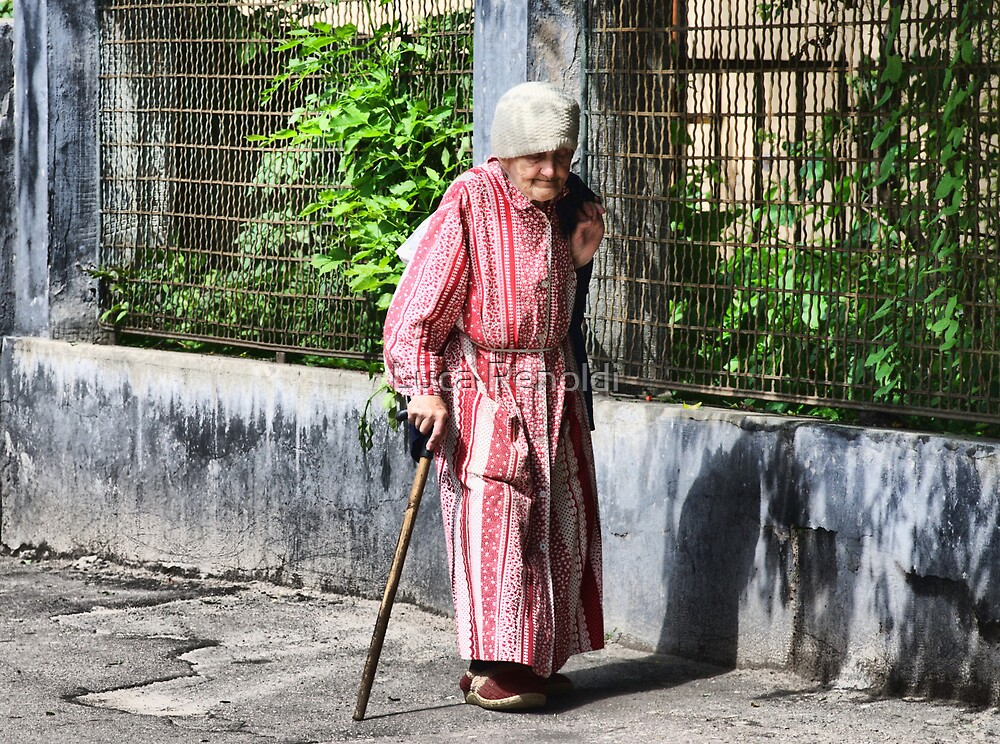Old Lady by Luca Renoldi