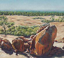 Victoria Rock,West Australia by robynart