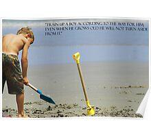Training Children Poster