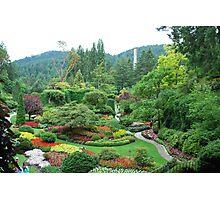 Butchart Gardens Photographic Print