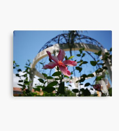 Wedding Gazebo Canvas Print