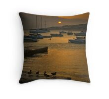 Duck Dawn Salina Malta Throw Pillow
