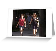 Crosswalk Greeting Card