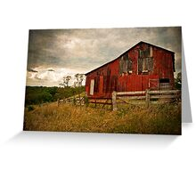 The Red Tin Barn Greeting Card