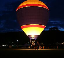 Glowing Balloon! UFO by Linda Jackson