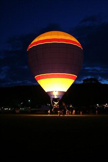 Glowing Balloon! UFO by Linda Jackson