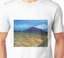 Oil Painting - Mount Etna 2011 Unisex T-Shirt