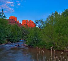 Sedona Red by L M