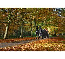 Autumn Ride Photographic Print