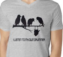 Hearing My Own Drummer dark Mens V-Neck T-Shirt