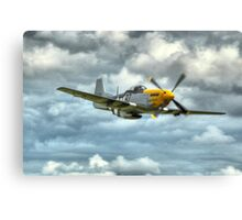 P51 Mustang - Ferocious Frankie Canvas Print