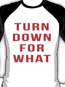 Turn Down For What T-Shirt