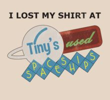 I Lost My Shirt At Tiny's Used Spaceships v2 by dopefish