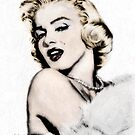 digital Magic Series: Marilyn Monroe 01 by Rebecca Richardson